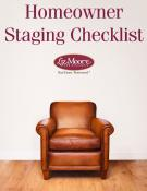 Homeowner Staging Checklist  Magazine