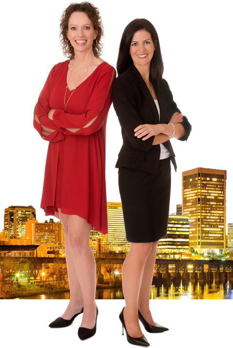 Richmond Office Managing Broker Tonya Morrow & Top Agent Annemarie Hensley