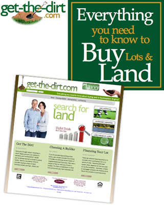 Everything you need to know to Buy Lots & Land - Get-The-Dirt.com