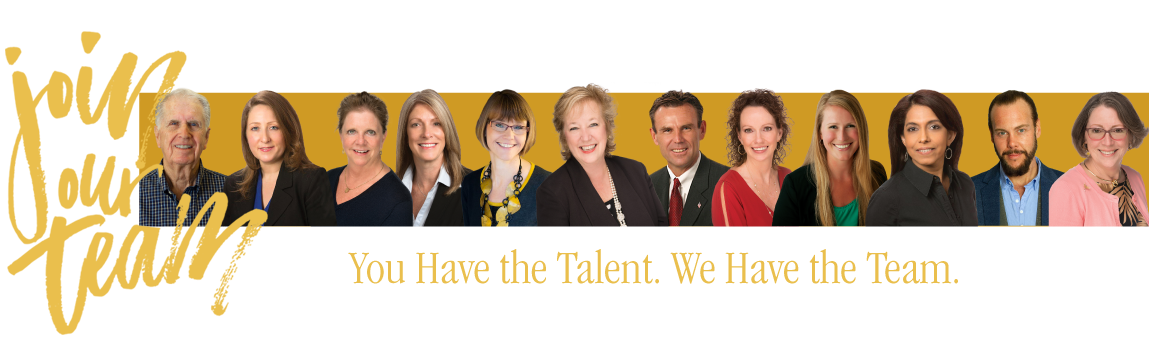 Join Our Team. You have the talent. We have the team.